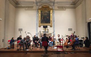 Registrazione orchestra d'archi