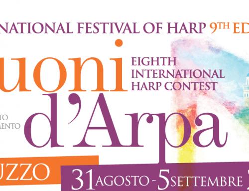 Concerto di apertura del Festival  Internazionale SUONI D'ARPA_31 agosto, ore 21