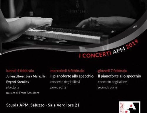 I Concerti APM 2019 – Appuntamenti di febbraio