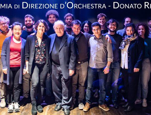 Esibizione dei neodiplomati in Direzione d'orchestra dell'Accademia triennale del Maestro Donato Renzetti